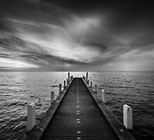 Oliver's Hill Jetty 2 by Christine  Wilson Photography