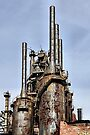 Bethlehem Steel Blast Furnaces by DJ Florek