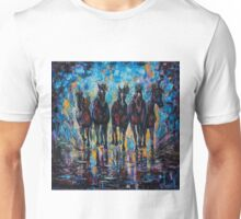 """Roaming Free"" (Palette knife) by Lena Owens/OLena Art Unisex T-Shirt"