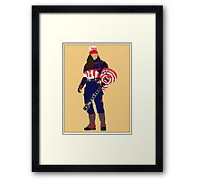 captain buckethead Framed Print