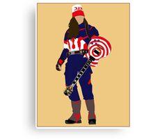 captain buckethead Canvas Print