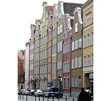 Long Street (market) Gdansk, Poland  Photographic Print