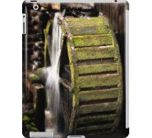 Mill Wheel in Cades Cove iPad Case/Skin
