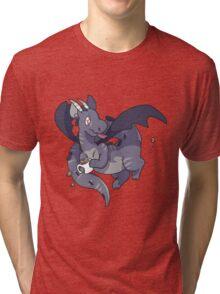 Mug Dragon Tri-blend T-Shirt