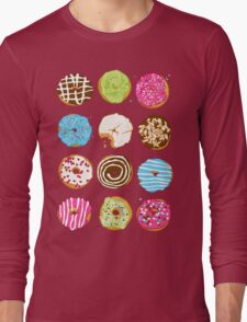 Sweet donuts Long Sleeve T-Shirt