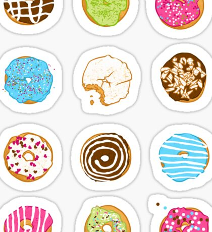 Sweet donuts Sticker