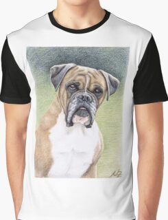 Portrait Boxer Hutch Graphic T-Shirt