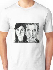 12th Doctor and Clara Unisex T-Shirt
