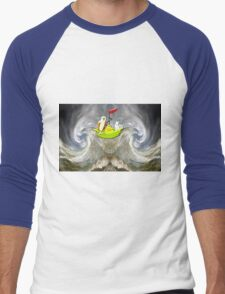 The Owl & the Pussycat Went to Sea Men's Baseball ¾ T-Shirt