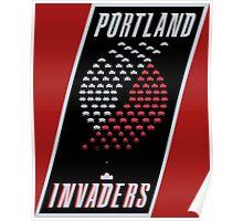 Portland Invaders Poster