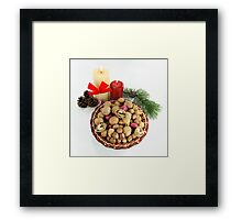 Happy Greeting Seasons - get your Good Luck. Framed Print