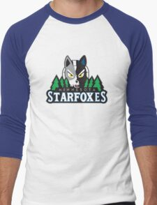 Minnesota Starfoxes Men's Baseball ¾ T-Shirt