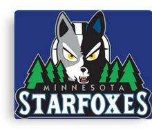 Minnesota Starfoxes Canvas Print