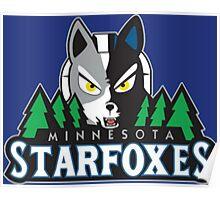 Minnesota Starfoxes Poster