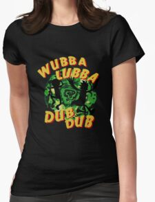 Wubba Lubba Womens Fitted T-Shirt