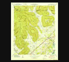USGS TOPO Map Alabama AL Doran Cove 303697 1950 24000 Unisex T-Shirt