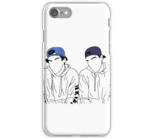 Dolan twins- stencil hats #2 iPhone Case/Skin