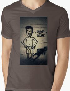 Nothing to declare Mens V-Neck T-Shirt