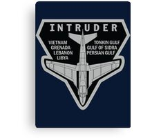 INTRUDER MISSIONS Canvas Print