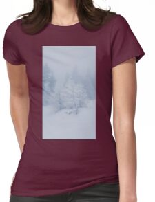 winter frost Womens Fitted T-Shirt