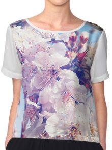 Cherry flowers Chiffon Top