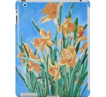 Golden Daffodils iPad Case/Skin