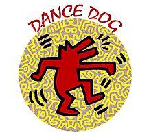 DANCE DOG Photographic Print