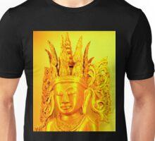 gold buddha head Unisex T-Shirt