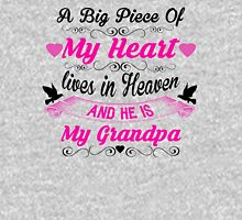 A Big Piece Of My Heart Lives In Heaven And He Is My Grandpa T-Shirt