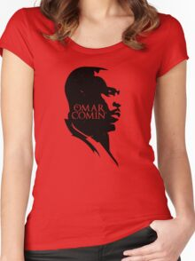Omar Comin' Women's Fitted Scoop T-Shirt
