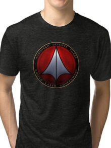 Robotech and logo Tri-blend T-Shirt