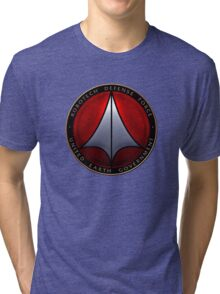 Robotech and logo Tri-blend T-Shirt