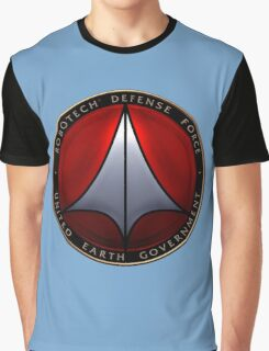 Robotech and logo Graphic T-Shirt