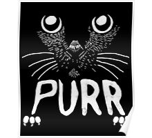 PURR The Cat Poster