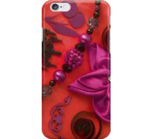 Bow, Beads & Filigree iPhone Case/Skin