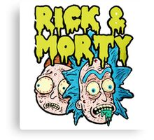 RickMorty Canvas Print