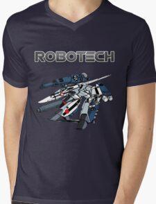 Robotech Super Valkyrie Mens V-Neck T-Shirt