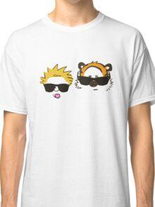 calvin and hobbes sunglasses Classic T-Shirt