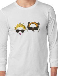 calvin and hobbes sunglasses Long Sleeve T-Shirt