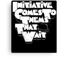 Initiative A Clockwork Orange Movie Quote Canvas Print