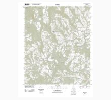 USGS TOPO Map Alabama AL Nectar 20111206 TM One Piece - Short Sleeve