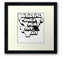 Initiative A Clockwork Orange Movie Quote Framed Print