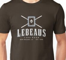Lebeau's Card Room - New Orleans, LA Unisex T-Shirt