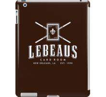 Lebeau's Card Room - New Orleans, LA iPad Case/Skin