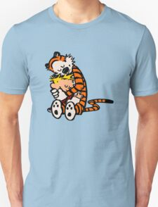 calvin and hobbes sleeping Unisex T-Shirt