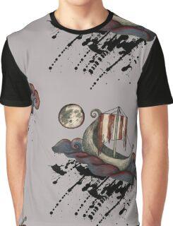 Lunar Viking Voyage Graphic T-Shirt