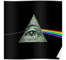 Pink Floyd Illuminati Poster