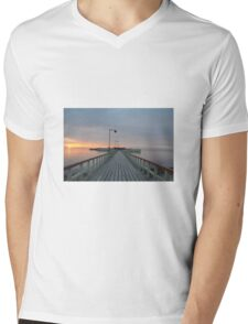 The Pier Mens V-Neck T-Shirt