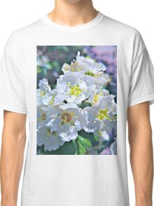 Beautiful White Flowers Classic T-Shirt
