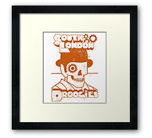 South London Droogies A Clockwork Orange Movie Quote Framed Print